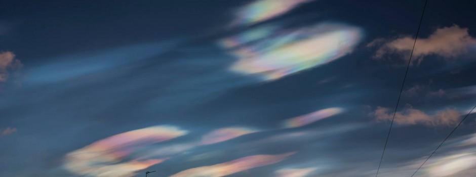 Nacreous cloud appeared in UK's skies on 1/2/2016