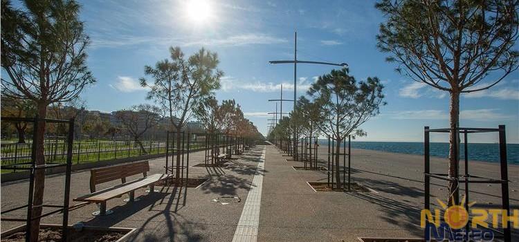 Επιστρέφει η λιακάδα στην Θεσσαλονίκη-αισθητή άνοδος θερμοκρασίας