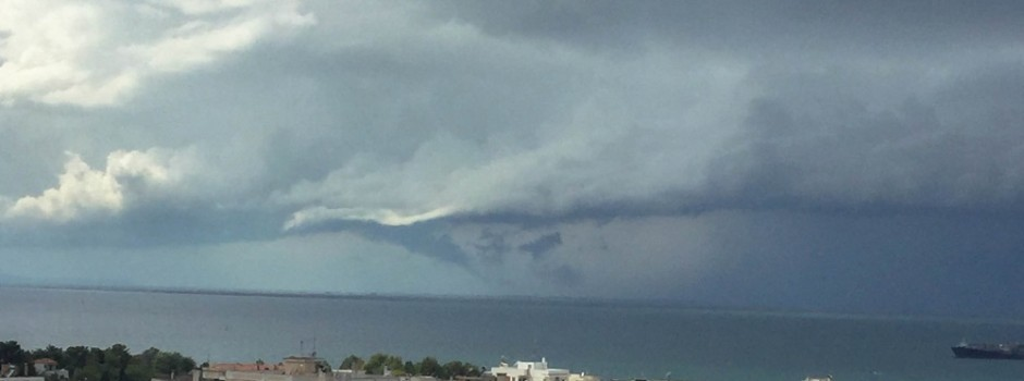 Βροχές την ΔΕΥΤΕΡΑ στην Θεσσαλονίκη