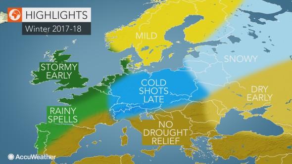 Πως θα κυλίσει O Xειμώνας σύμφωνα με τους Αμερικανούς