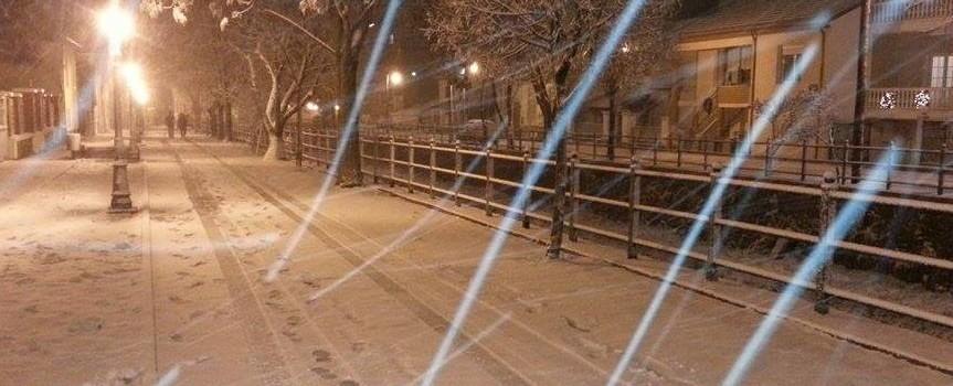 Στα λευκά το πρωί ΔΕΥΤΕΡΑΣ η Φλώρινα-αυξημένες πιθανότητες χιονόστρωσης