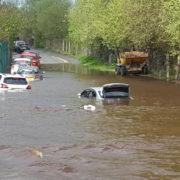 Ισχυρές βροχοπτώσεις στην Άγκυρα με τραυματίες και υλικές ζημιές