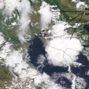 χαλκιδική καταιγίδες δορυφορική