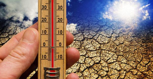 κλιματική αλλαγή θερμοκρασία