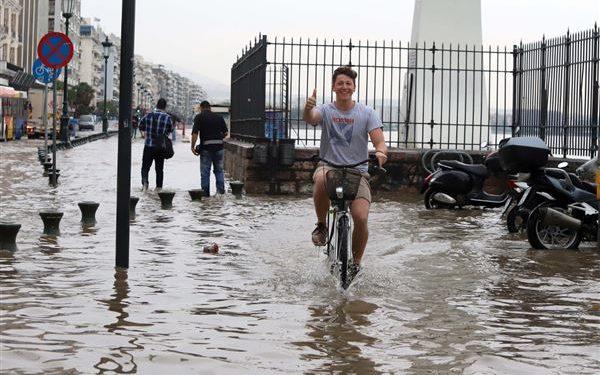 Μάιος 2018 Θεσσαλονίκη ρεκόρ βροχών