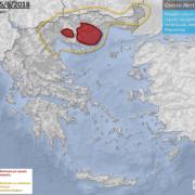 nowcast καταιγίδες αστάθεια χάρτης προειδοπιήσεων