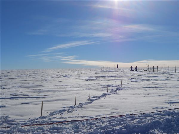 ψυχρότερο μέρος στη γη