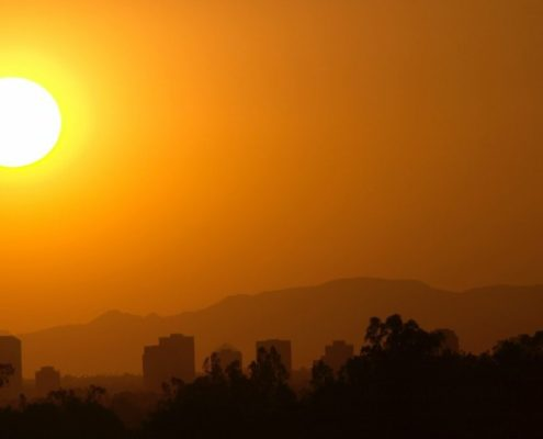 heat wave temeprature record africa