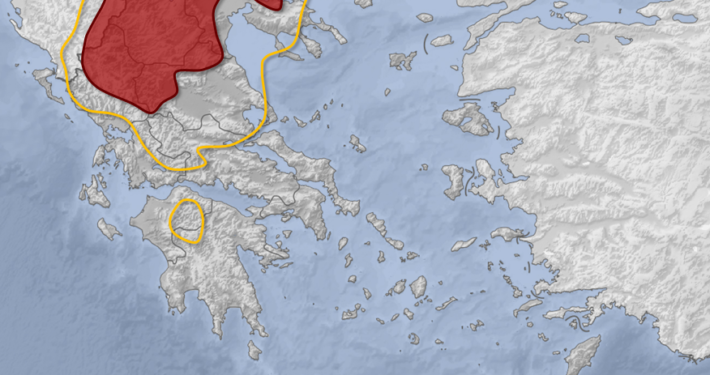 ΚΑΤΑΙΓΙΔΕΣ ΔΕΚΑΠΕΝΤΑΥΓΟΥΣΤΟΣ ΧΑΡΤΗΣ ΠΡΟΓΝΩΣΗ